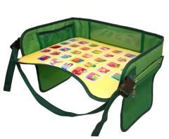 Детский столик-азбука для автокресла, зеленый EasyWay