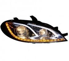 Передние фары для Chevrolet Lacetti '03-12 HB, LED, стиль Benz W212 (ASP)