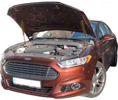 Газовые упоры капота для Ford Fusion USA 2012- (железный капот)