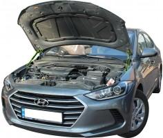 Газовые упоры капота для Hyundai Elantra AD '16-, 2 шт.