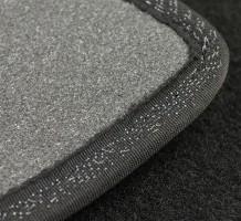 Фото 2 - Коврики в салон для Audi A8 '18- текстильные, черные (Премиум) 8 клипс