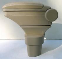 Фото 1 - Подлокотник ASP Hody для Hyundai Accent '06-10 виниловый (бежевый)