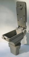 Фото 4 - Подлокотник ASP Hody для Hyundai Accent '06-10 виниловый (бежевый)