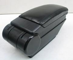 Фото 1 - Подлокотник ASP Hody для Hyundai i30 FD '07-12 виниловый (черный)