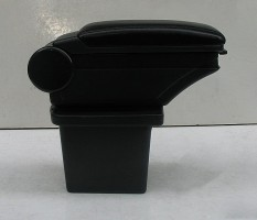 Фото 3 - Подлокотник ASP Hody для Hyundai i30 FD '07-12 виниловый (черный)