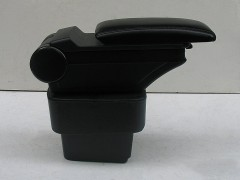 Фото 4 - Подлокотник ASP Hody для Kia Rio '11-15 виниловый (черный)