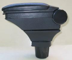 Фото 2 - Подлокотник ASP Hody для Toyota Yaris '06-10 виниловый (черный)