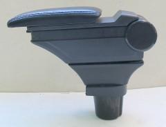 Фото 3 - Подлокотник ASP Hody для Toyota Yaris '06-10 виниловый (черный)
