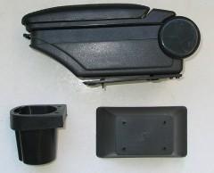 Фото 4 - Подлокотник ASP Hody для Toyota Yaris '06-10 виниловый (черный)
