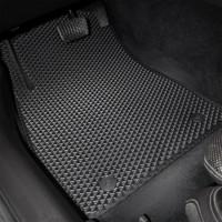 Фото товара 3 - Коврики в салон для Acura MDX '14-, EVA-полимерные, коричневые (Kinetic)