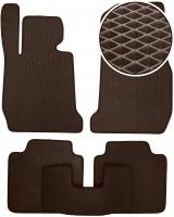 Коврики в салон для BMW 3 F34 GT '13- 2WD, EVA-полимерные, коричневые (Kinetic)