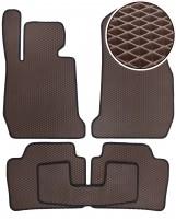Коврики в салон для BMW 3 F30 '12-, EVA-полимерные, коричневые (Kinetic)