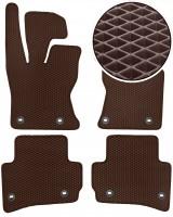 Коврики в салон для Jaguar F-Pace '16-, EVA-полимерные, коричневые (Kinetic)