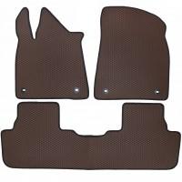 Фото 2 - Коврики в салон для Lexus RX '16-, EVA-полимерные, коричневые (Kinetic)