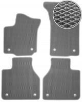 Коврики в салон для Volkswagen Phaeton '02-16 long, EVA-полимерные, серые (Kinetic)