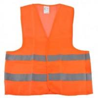 Жилет безопасности светоотражающий оранжевый Winso 149200 XL