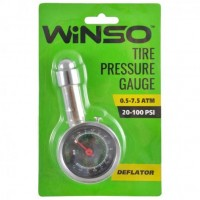 Манометр для измерения давления в шинах Winso 143200