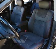Авточехлы Leather Style для Mitsubishi Galant '04-12 (MW Brothers)