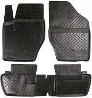Коврики в салон для Citroen C4 / DS4 '11- полиуретановые, черные (Nor-Plast)