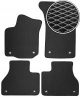 Коврики в салон для Volkswagen Phaeton '02-16, EVA-полимерные, черные (Kinetic)