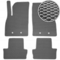 Коврики в салон для Chevrolet Volt '11-15, EVA-полимерные, серые (Kinetic)