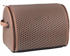 Органайзер в багажник EVA-полимерный, L, шоколадный (Kinetic)