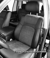 Авточехлы Leather Style для салона Hyundai i-20 '14- (MW Brothers)