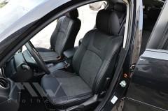 Авточехлы Leather Style для салона Mazda 3 '04-09 (MW Brothers)