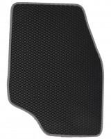 Фото 4 - Коврики в салон для Peugeot 307 '01-07, EVA-полимерные, черные с серой тесьмой (Kinetic)