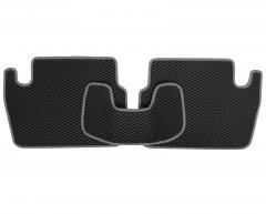 Фото 5 - Коврики в салон для Peugeot 307 '01-07, EVA-полимерные, черные с серой тесьмой (Kinetic)