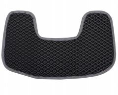 Фото 7 - Коврики в салон для Peugeot 307 '01-07, EVA-полимерные, черные с серой тесьмой (Kinetic)