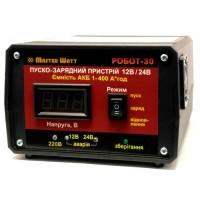 """Master Watt Автоматическое пуско-зарядное устройство Master Watt """"РОБОТ-30"""" 12/24В"""