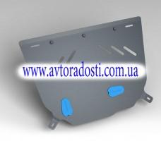 Novline Защита картера двигателя для Citroen C4 / DS4 '11- (2мм) 1,6 бензин МКПП/АКПП