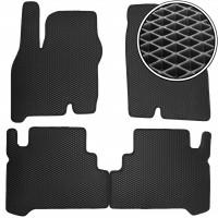 Коврики в салон для Chevrolet Bolt '16-, EVA-полимерные, черные (Kinetic)