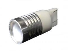Автомобильная светодиодная лампочка Falcon red W21W 12V 3W
