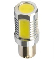 Автомобильная светодиодная лампочка Falcon red P21W 12V 6W