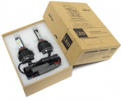 Автомобильные светодиодные лампочки Sho-Me НB4 12V 30W