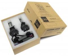 Автомобильные светодиодные лампочки Sho-Me G1.1 H4 40W 6000K