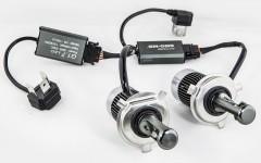 Автомобильные светодиодные лампочки Sho-Me G1.7 H4 30W