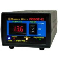 """Интеллектуальное десульфатирующее зарядное устройство Master Watt """"РОБОТ-12"""" 12В, 12,5А"""