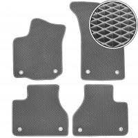 Kinetic Килимки в салон для Volkswagen Phaeton '02-16, EVA-полімерні, сірі (Kinetic)