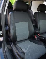 Авточехлы Premium для салона Opel Astra H Caravan '04-15 универсал, серая строчка (MW Brothers)
