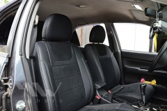 Авточехлы Leather Style для салона Mitsubishi Lancer 9 '04-09, 1.6л (MW Brothers)