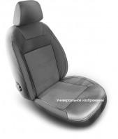 Авточехлы Dynamic для салона Hyundai Accent (Solaris) '11-17 седан, с цельной спинкой (MW Brothers)