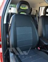 Авточехлы Premium для салона Fiat Punto '00-11, серая строчка (MW Brothers)