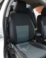 Авточехлы Premium для салона Chevrolet Cruze '09-16 универсал/хетчбэк, серая строчка (MW Brothers)