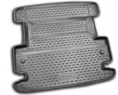 Коврик в багажник для Fiat Freemont '11-16 нижний, полиуретановый (Novline / Element) черный