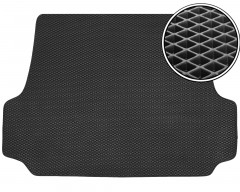 Коврик в багажник для Daewoo Leganza '97-03, EVA-полимерный, черный (Kinetic)