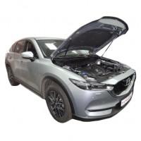 Газовые упоры капота для Mazda CX-5 2017-, 2 шт. (Novline)
