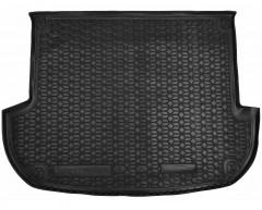 Коврик в багажник для Hyundai Santa Fe '10-12 CM (5 мест), резиновый (AVTO-Gumm)